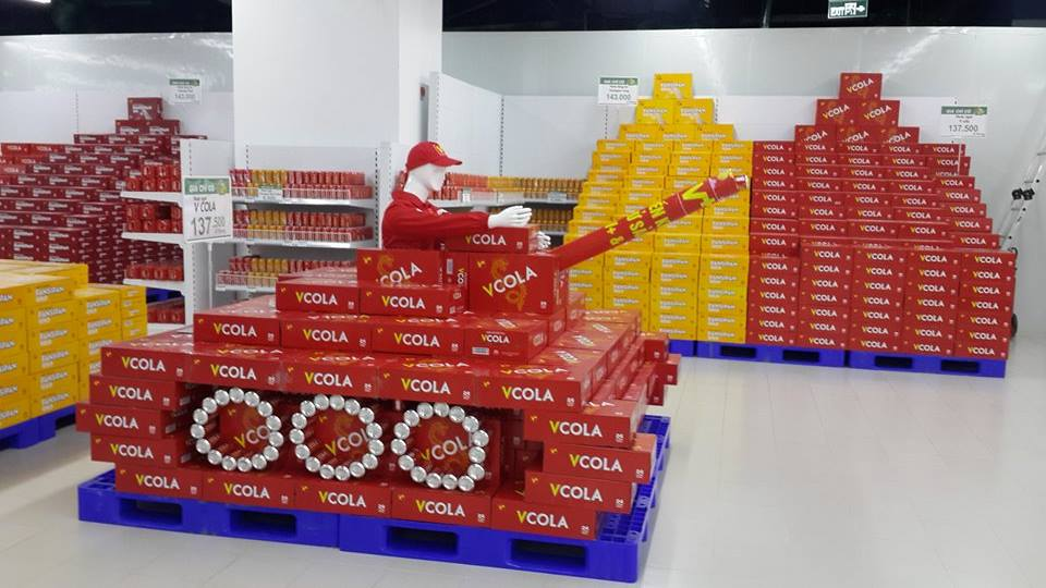 VCola tự tin đương đầu với doanh nghiệp ngoại